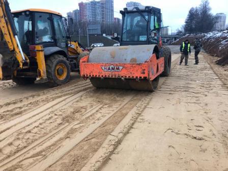 Строительство дорог в Москве и Московской области